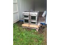 Cannon all gas range cooker with 2 ovens