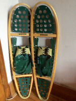 One size fits all snow shoes