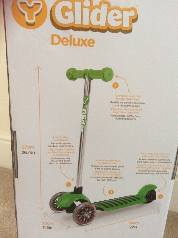 Y Glider Deluxe Scooter Brand New In Kingswood East Yorkshire Gumtree