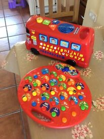 Animated learning letters toys