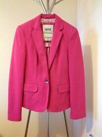 Hilfiger Denim Hot Pink Jacket - size small (8-10)