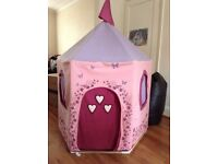 Lovely Fabric/Wooden Princess Playtent