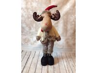 Heaven sends Christmas plush reindeer/moose 65cm