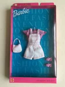Rare Collectible Mattel Fashion Avenue Barbie Doll Dress New