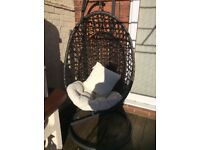 Swing egg chair