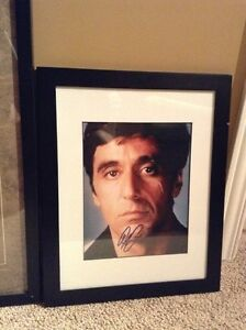Scarface Al Pacino autographed picture and wall art London Ontario image 1