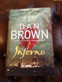 Dan Brown Inferno hardback