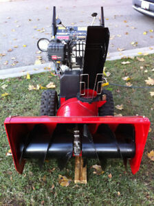 Toro 12 HP Snowblower with electric start