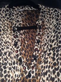 Marks and Spencer brand new animal print shirt