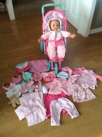 Bundle of baby doll