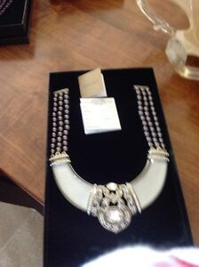 Brand New Heidi Daus Necklace and Earring Sets