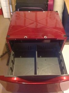 Pair of red pedestals for  whirlpool front loaders St. John's Newfoundland image 2