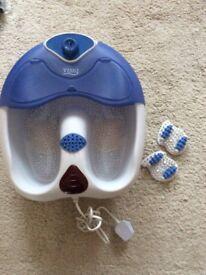 Visiq infra-red heat bubble massage foot spa