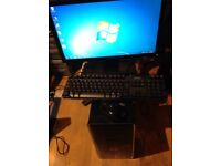 Dell Inspiron 620 Desktop Computer i5 with Monitor keyboard and wired mouse