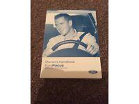 Ford Focus owners handbook 2007 model