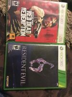 Red dead redeption and resident evil