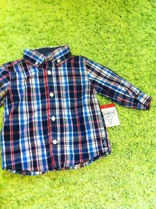 NWT Osh Kosh dress shirt 12 months