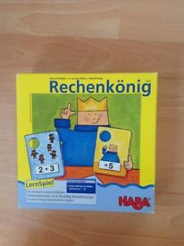HABA Kings of Numbers Maths Game Age 5-8