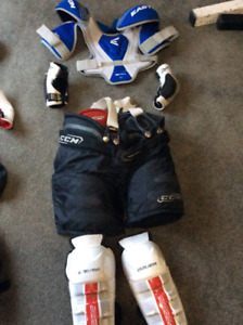 Complete Youth Hockey Equipment includes Skates