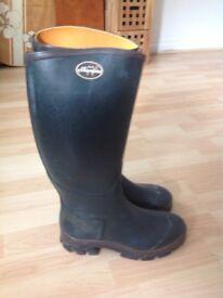 Le Chameau ladies Wellington boots U.K. 5.5 (38)