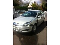 2009 Sept vauxhall Astra 1.6 petrol mot nov17 only 25000 miles side damage £1095