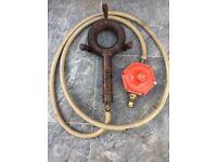 Gas ring burner (can deliver)