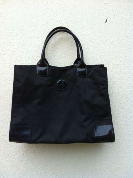 Genuine Tory Burch black bag. Used less than three times and in good condition.