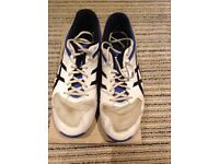 Asics Gel 100 not out cricket shoe size euro 43.5