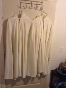 Two Ivory Coloured Capes