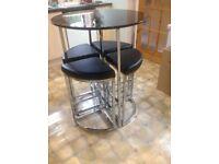 Table & stool set
