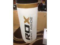 RDX Giant Inside 4ft Punch Bag, gloves, target mitts, kick pad.