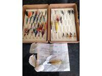 Fox Box and over 30 Salmon Flies