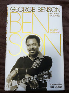 George Benson Autobiography – Hardcover, Like New