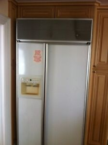 """GE PROFILE 42"""" COUNTER DEPTH SIDE BY SIDE, PANEL READY"""