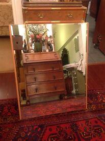 Retro mirror made in Belgium