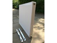 Single panel radiator 80x60cm
