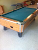Moving or Reclothing Your Pool Table