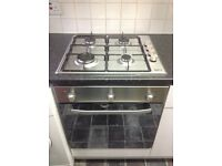 Hotpoint Gas Wall Oven & Beko Gas Hob Units