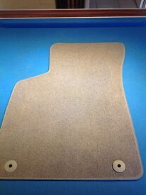 Audi TT Mk1 front mats genuine light grey excellent condition