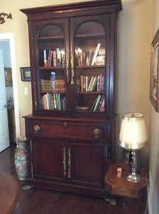 MAGNIFICENT BOOKCASE/BUTLERS CHEST CIRCA LATE 1800'S