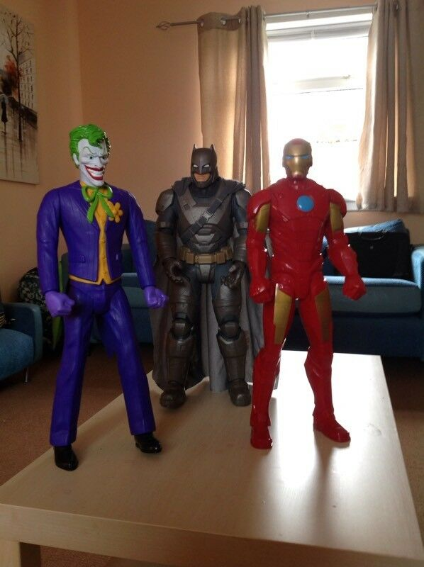 Large SuperHero Figures £25