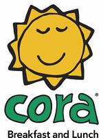 CORA BREAKFAST & LUNCH Robson - Cooks, Host/Bussers, Servers