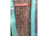Brushwood screening