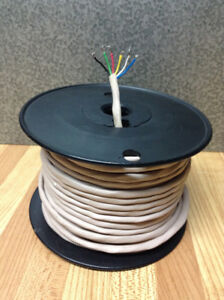 6 conductor, 24 gauge wire