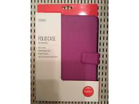 Purple folio case for iPad Air 2