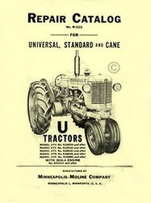 Minneapolis Moline U Utu Uts Utc Utn Ute Repair Manual