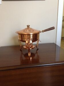 BUFFET SERVER/CHAFING DISH (copper)