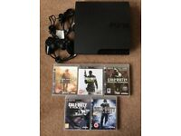 160GB PS3 + 5 Call Of Duty games