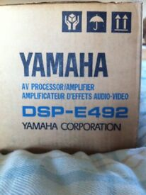 Yamaha DSP-E492 amp.