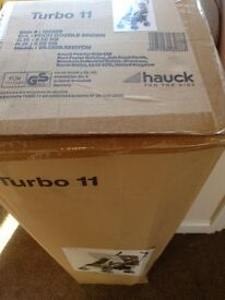 Hauck stroller turbo 11 buggy Winnie the Pooh doodle brown